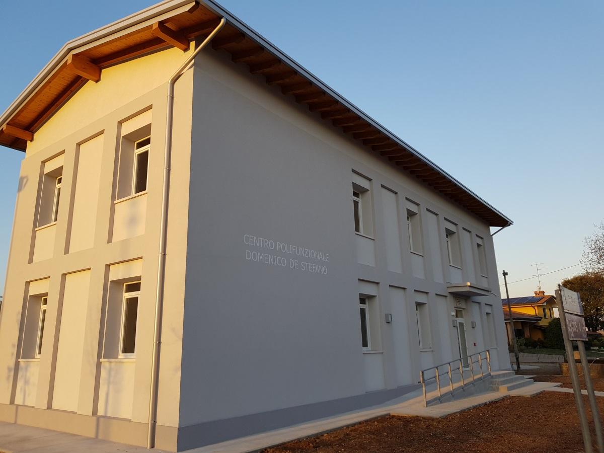 Opere edili centro polifunzionale di Basedo