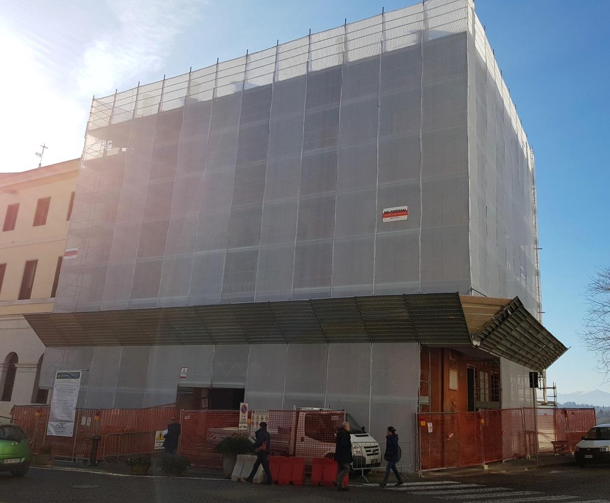 Rafforzamento sismico Palazzo Rosso Belluno